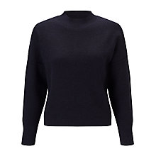 Buy Kin by John Lewis Compact Wool Knit Jumper, Navy Online at johnlewis.com