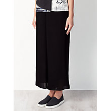 Buy Kin by John Lewis Limited Edition Pleated Trousers, Black Online at johnlewis.com