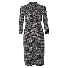 Buy Hobbs Emilie Dress, Black Online at johnlewis.com