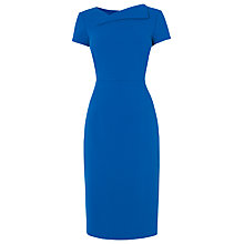 Buy L.K. Bennett Jo Fitted Dress, Blue Online at johnlewis.com