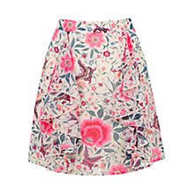 Buy Oasis Havana Side Frill Skirt, Multi Online at johnlewis.com