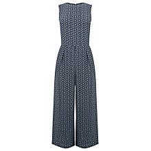 Buy Warehouse Squiggle Print Jumpsuit, Multi Online at johnlewis.com