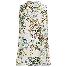 Buy Warehouse Meadow Floral Woven Top, Multi Online at johnlewis.com