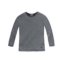 Buy Lee Slim Fit Sweatshirt, Grey Melange Online at johnlewis.com