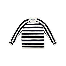 Buy Hilfiger Denim Long Sleeve Stripe Jumper, Navy Blazer/Egret Online at johnlewis.com