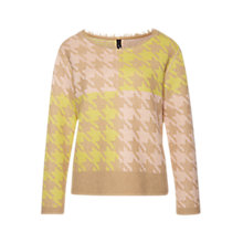 Buy Marc Cain Dogstooth Jumper, Multi Online at johnlewis.com