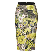 Buy Marc Cain Floral Print Pencil Skirt, Multi Online at johnlewis.com