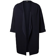 Buy Selected Femme Carrie 3/4 Sleeve Cardigan, Dark Sapphire Online at johnlewis.com
