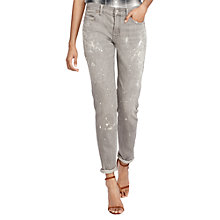 Buy Polo Ralph Lauren Astor Slim Boyfriend Jeans, Grey Online at johnlewis.com