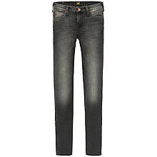 Buy Lee Emlyn Regular Waist Straight Leg Jeans, Scraped Coal Online at johnlewis.com