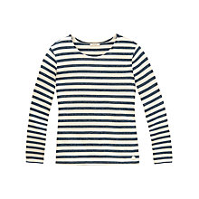 Buy Lee Long Sleeve Stripe T-Shirt, Navy Online at johnlewis.com