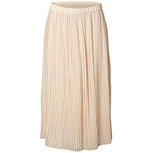 Buy Selected Femme Muki Pleated Skirt, Smoke Grey Online at johnlewis.com