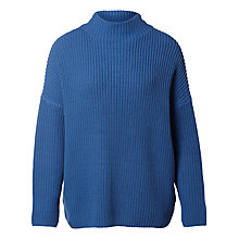 Buy Selected Femme Ria Jumper, Dutch Blue Online at johnlewis.com