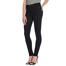 Buy Lee Scarlett High Waist Skinny Jeans, Clean Black Online at johnlewis.com