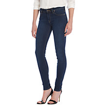 Buy Lee Scarlett Regular Waist Skinny Jeans, Stone Rinse Online at johnlewis.com