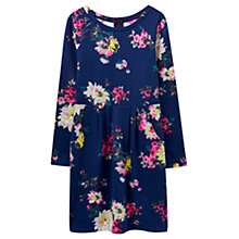 Buy Joules Daylia Printed Dress, French Navy Floral Online at johnlewis.com