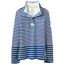 Buy Joules Cowdray Stripe Sweatshirt, Dark Indigo Saltwash Online at johnlewis.com