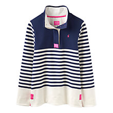 Buy Joules Classic Colour Block Jersey Top, French Navy Online at johnlewis.com