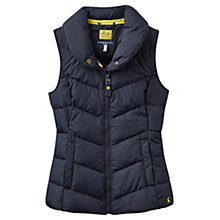 Buy Joules Merriton Padded Gilet, Marine Navy Online at johnlewis.com