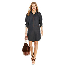 Buy Polo Ralph Lauren Denim Shirt Dress, Dark Indigo Online at johnlewis.com