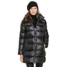 Buy Polo Ralph Lauren Down Filled Quilted Coat, Polo Black Online at johnlewis.com