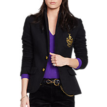 Buy Polo Ralph Lauren Custom Stretch Blazer, Polo Black Online at johnlewis.com