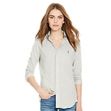 Buy Polo Ralph Lauren Heidi Stretch Shirt, Andover Heather Online at johnlewis.com