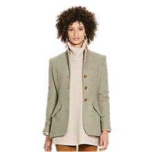 Buy Polo Ralph Lauren Hacking Virgin Wool Jacket, Vintage Olive Online at johnlewis.com