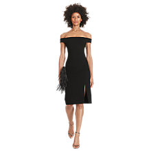 Buy Polo Ralph Lauren Off The Shoulder Dress, Polo Black Online at johnlewis.com