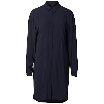 Selected Femme Bisma Shirt Dress, Dark Sapphire