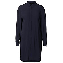 Buy Selected Femme Bisma Shirt Dress, Dark Sapphire Online at johnlewis.com