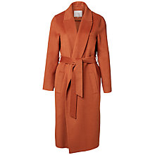 Buy Selected Femme Oby Wool-Blend Coat, Mocca Bisque Online at johnlewis.com