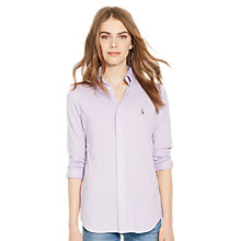 Buy Polo Ralph Lauren Heidi Stretch Shirt, New Lavender Online at johnlewis.com
