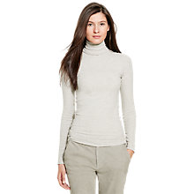 Buy Polo Ralph Lauren Long Sleeve Turtleneck Jumper, Brooklyn Heather Online at johnlewis.com