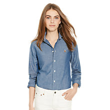 Buy Polo Ralph Lauren Harper Denim Shirt, Polo Blue Online at johnlewis.com