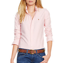 Buy Polo Ralph Lauren Harper Fitted Shirt, Pink Online at johnlewis.com
