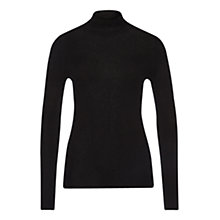 Buy Marc Cain Sequin Neck Jumper, Black Online at johnlewis.com