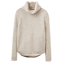 Buy Joules Castley Roll Neck Jumper, Cream Marl Online at johnlewis.com