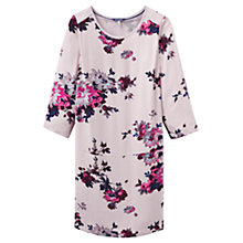 Buy Joules Ambion Printed Dress, Champagne Floral Online at johnlewis.com