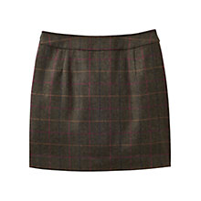 Buy Joules Fearne Tweed Mini Skirt, Heather Check Online at johnlewis.com