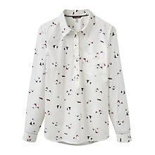 Buy Joules Charlotte Pop-Over Shirt, Fox And Pheasant Online at johnlewis.com