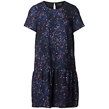 Buy Selected Femme Nisma Printed Dress, Black Online at johnlewis.com