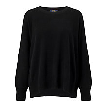 Buy Polo Ralph Lauren Wool-Blend Jumper, Polo Black Online at johnlewis.com