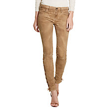 Buy Polo Ralph Lauren Tompkins Skinny Fit Jeans, Brown Online at johnlewis.com
