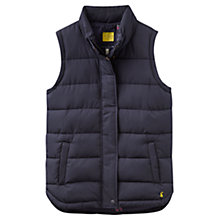 Buy Joules Eastleigh Padded Gilet, Marine Navy Online at johnlewis.com
