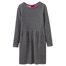 Buy Joules Daylia Sweat Dress, Grey Marl Online at johnlewis.com