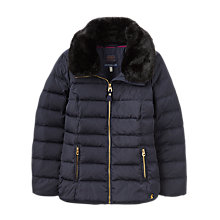 Buy Joules Oakwell Quilted Jacket, Marine Navy Online at johnlewis.com