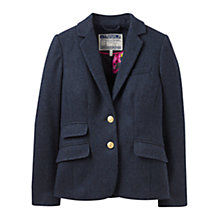 Buy Joules Aster Tweed Jacket, Navy Tweed Online at johnlewis.com