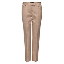 Buy Marc Cain Jacquard Tapered Trousers, Linen Online at johnlewis.com