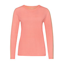 Buy Marc Cain Two Tone Jumper, Flamingo Online at johnlewis.com